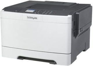 Lexmark CS417dn - Skriver - farge - Dupleks - laser - A4/Legal - 1200 x 1200 dpi - inntil 30 spm (mono) / inntil 30 spm (farge) - kapasitet: 250 ark