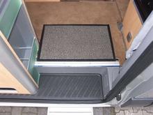 Arisol gulvmatte Nevada grå 60x40 cm
