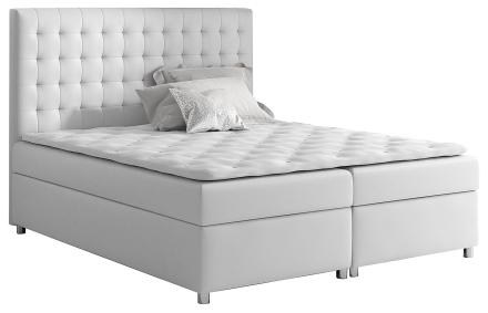 Łóżko kontynentalne Rexer 200x200 - 44 kolory