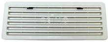 Ventilasjonsgitter Thetford kjøleskap stort snøhvitt, 488x248 mm