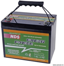 Green power AGM batteri 80Ah gp80s