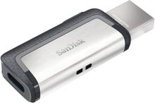 SANDISK Sandisk USB hukommelse 3.1 Ultra Dual 128GB Typ C