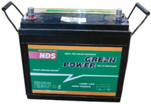Green power AGM batteri 140Ah