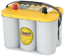 AGM batteri Optima YTS4 2 55Ah, 12V
