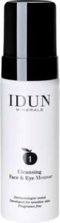 Idun Skincare Cleansing Mousse Ansiktsrens Sminkefjerning Rens Nude IDUN MINERALS