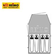 Reimo campingtelt Dakota Z5 Deluxe - for 4 personer