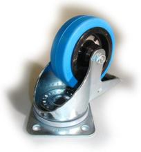 Hjul, rörligt med broms