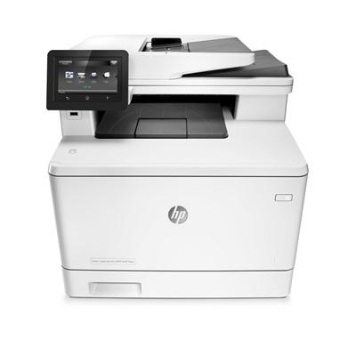 HP Color LaserJet Pro MFP M477fdw skrivare