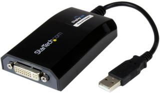 USB till DVI-adapter - externt USB-videografikkort för PC och Mac - 1920x1200