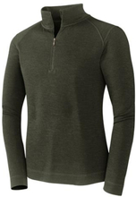 Smartwool Mens Midweight Zip, Olive