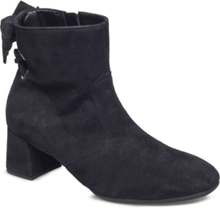 Boots Shoes Boots Ankle Boots Ankle Boots With Heel Svart Gabor