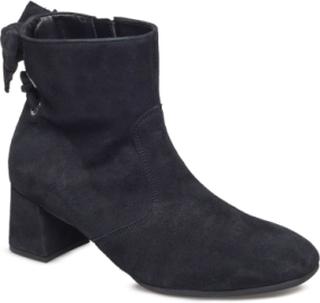 Boots Shoes Boots Ankle Boots Ankle Boots With Heel Svart Gabor