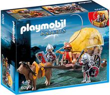 Playmobil,Playmobil Knights Örnriddare med kamo. vagn 6005