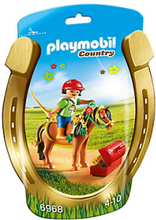 Playmobil,Playmobil Country Ponnyhäst att pynta Blomma 6968