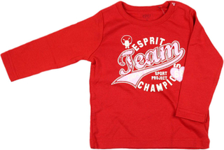 Esprit,Esprit T-Shirt Team Champions Röd