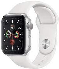 Watch Series 5 Cellular (GPS + Cellular) 44mm Aluminium Case Sport Band Hvid