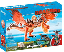 Playmobil 9459, Dragons - Snotfjæs og Krogtand