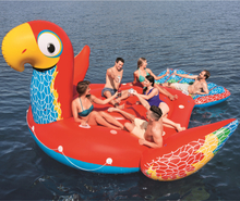 Gigantisk flytande papegoja för 6 personer - 4,7x3,8 meter