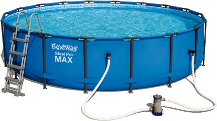 Ovanmarkpool 5,5m diameter - Bestway Steel Pro MAX (56462)