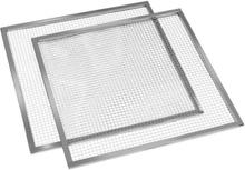 Master Jerky torkhyllor tillbehör reserv 2 stycken 67x67 cm rostfritt stål