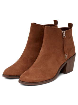 ONLY High Heeled Boots Women Brown