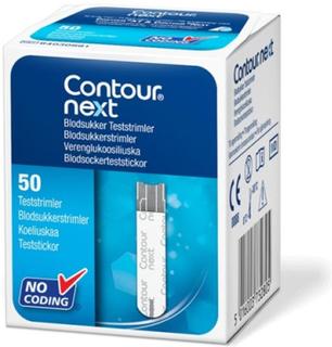 Contour Diabetes Solutions Contour Next teststickor 50 st