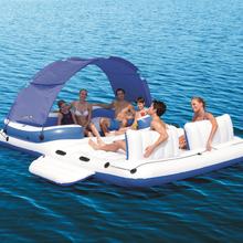 Uppblåsbar flotte för 6 personer - Tropical Breeze Island