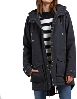 Volcom Volcom Walk On By Parka Dame synthetic-lined parkas Sort M