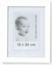 Hvide fotorammer - 18x24 cm (3 stk.)