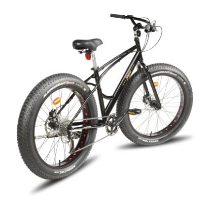 Fat Jopo 26'', 8-vaihteinen polkupyörä, musta