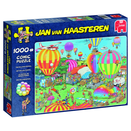 Jan van Haasteren Balloon festival 1000 palaa