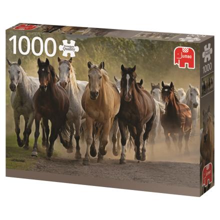 Team of horses - 1000 pcs