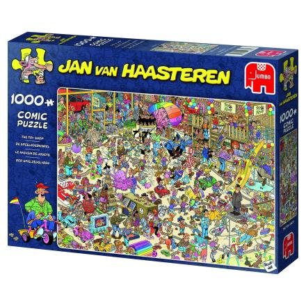 Jan van Haasteren, The Toy Shop 1000 palaa