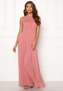 Y.A.S Sienna S/L Dress Dusty Rose L