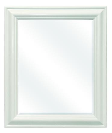 Peili 52x62cm moderni valkoinen D1034