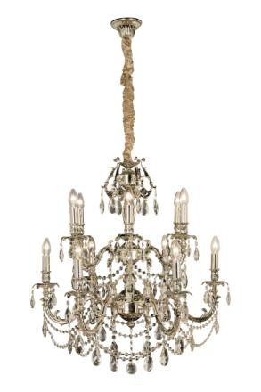 Versailles 12-os. kattovalaisin, antiikki hopea