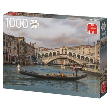 Rialto Bridge Venice, Italy 1000 palaa