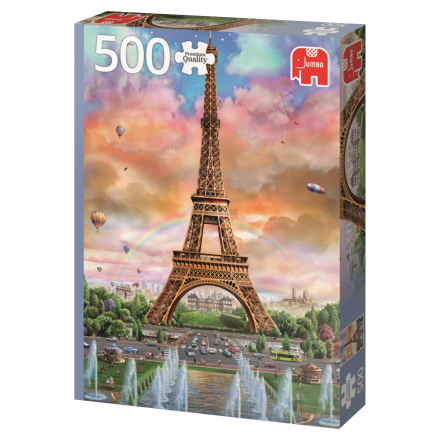 Eiffel Tower, Paris, France 500 palaa