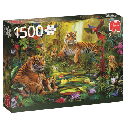 Tigers in the Jungle 1500 palaa