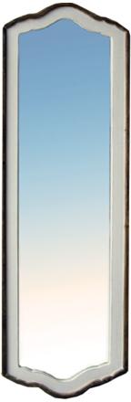 Alsace-48-peili, kuultovalkoinen-ruskea