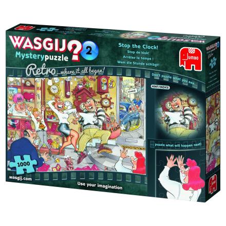 WASGIJ Retro Mystery 2,Stop the Clock 1000 palaa