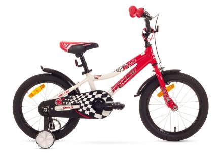 Salto-polkupyörä 16'', lasten, punainen