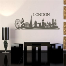 Wallsticker London skyline
