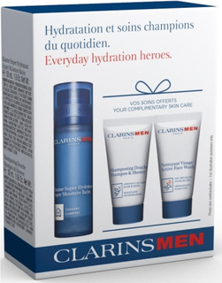 Clarins Men Everyday Hydration Heroes Kit Limited Edition