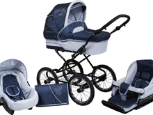 Nelly Duo 3 in 1 Barnvagnar - Lounge Blue