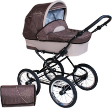Nelly Duo 2 in 1 Barnvagnar - Denim Brown