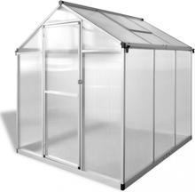 Veksthus forsterket aluminium 3,46 m²