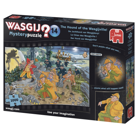 WASGIJ Mystery 14, The hound of the Wasgijville 1000 palaa