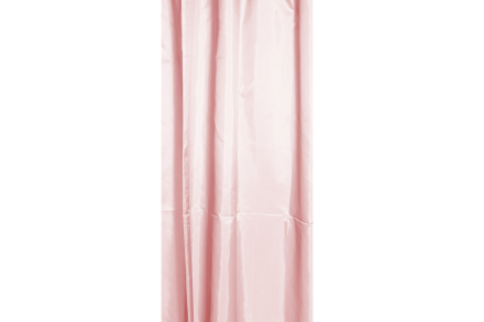 Suihkuverho, roosa