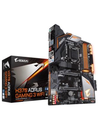 H370 AORUS GAMING 3 WIFI Bundkort - Intel H370 - Intel LGA1151 socket - DDR4 RAM - ATX